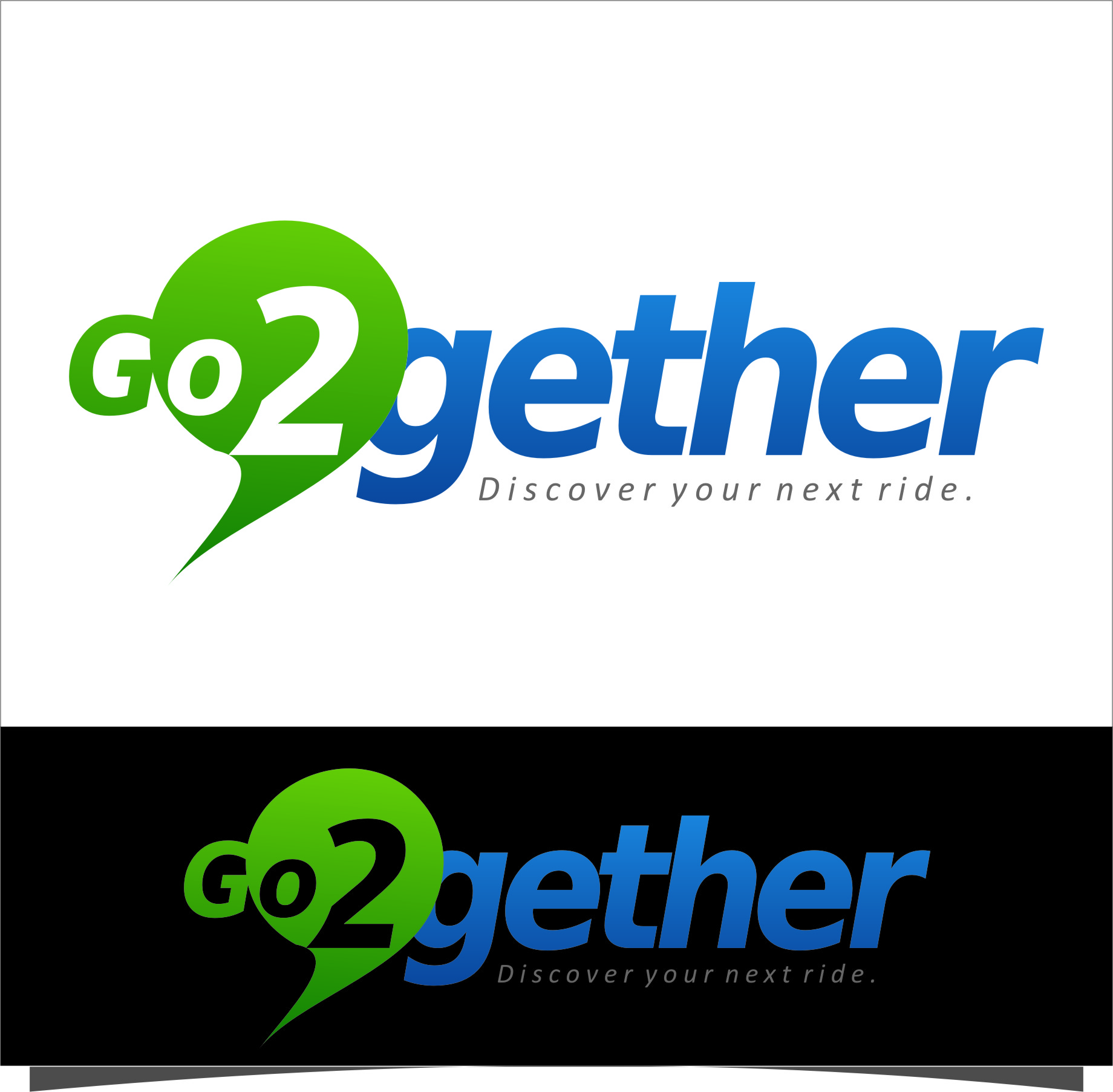 Logo Design by Ngepet_art - Entry No. 176 in the Logo Design Contest Captivating Logo Design for GO2GETHER.