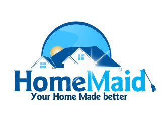 Logo Design by Clifton Gage - Entry No. 18 in the Logo Design Contest Unique Logo Design Wanted for HomeMaid.