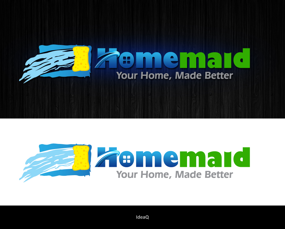 Logo Design by Private User - Entry No. 19 in the Logo Design Contest Unique Logo Design Wanted for HomeMaid.