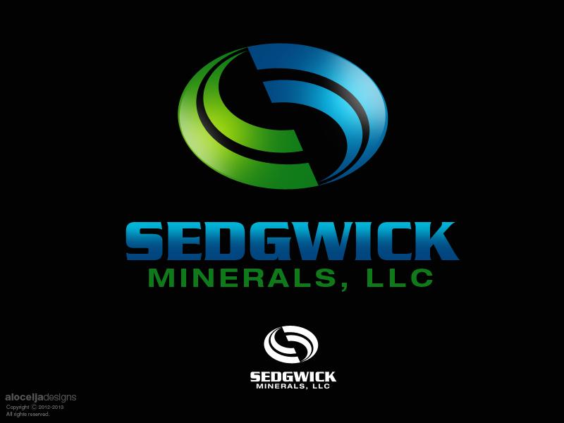 Logo Design by alocelja - Entry No. 43 in the Logo Design Contest Inspiring Logo Design for Sedgwick Minerals, LLC.