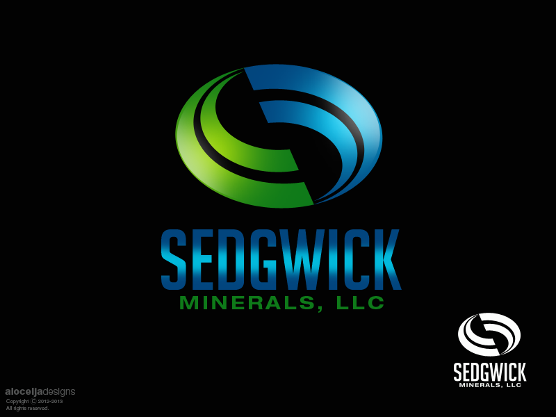 Logo Design by alocelja - Entry No. 44 in the Logo Design Contest Inspiring Logo Design for Sedgwick Minerals, LLC.
