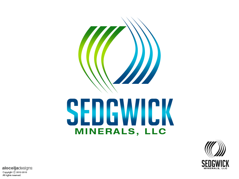 Logo Design by alocelja - Entry No. 49 in the Logo Design Contest Inspiring Logo Design for Sedgwick Minerals, LLC.