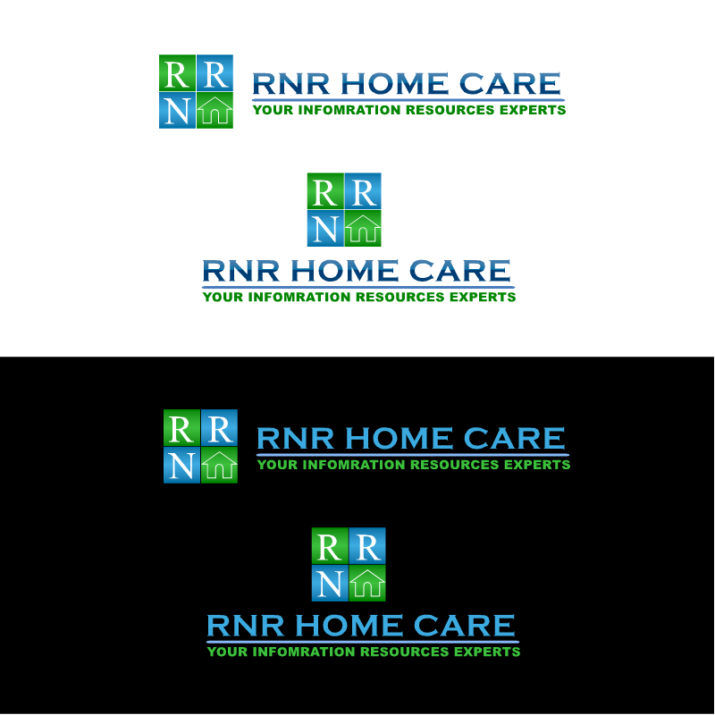 Logo Design by RAJU CHATTERJEE - Entry No. 28 in the Logo Design Contest Imaginative Logo Design for RNR HomeCare.