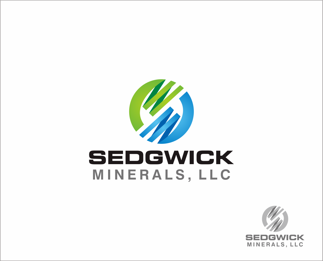 Logo Design by Armada Jamaluddin - Entry No. 52 in the Logo Design Contest Inspiring Logo Design for Sedgwick Minerals, LLC.