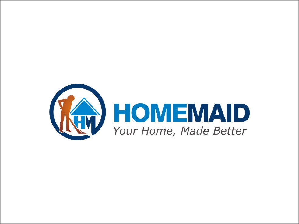 Logo Design by RED HORSE design studio - Entry No. 20 in the Logo Design Contest Unique Logo Design Wanted for HomeMaid.