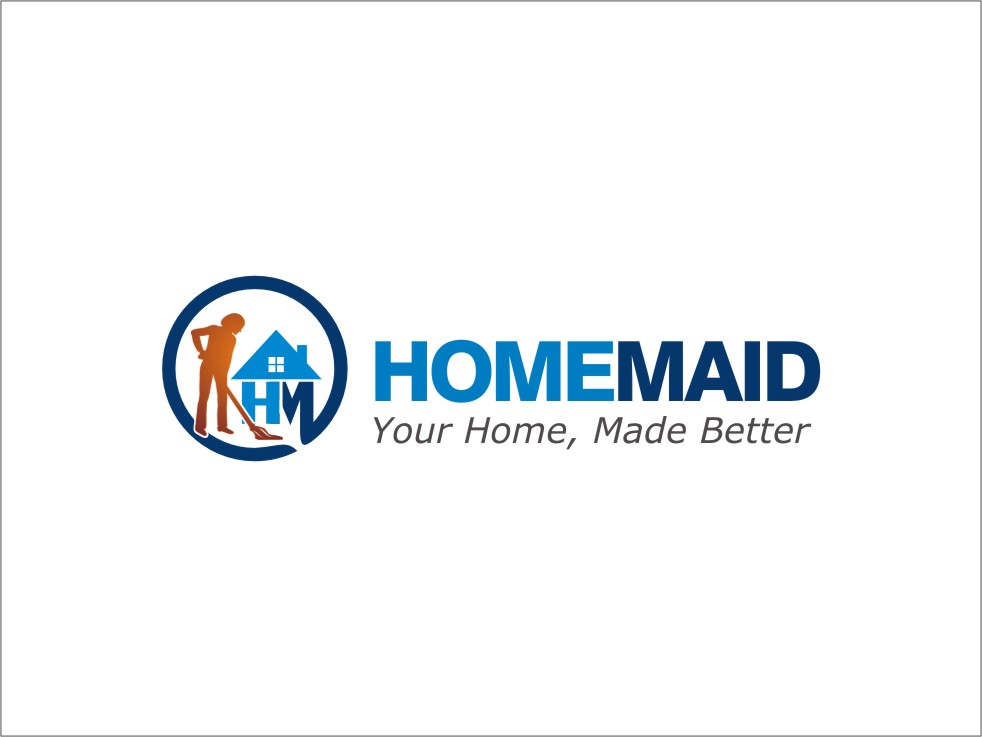 Logo Design by RED HORSE design studio - Entry No. 21 in the Logo Design Contest Unique Logo Design Wanted for HomeMaid.