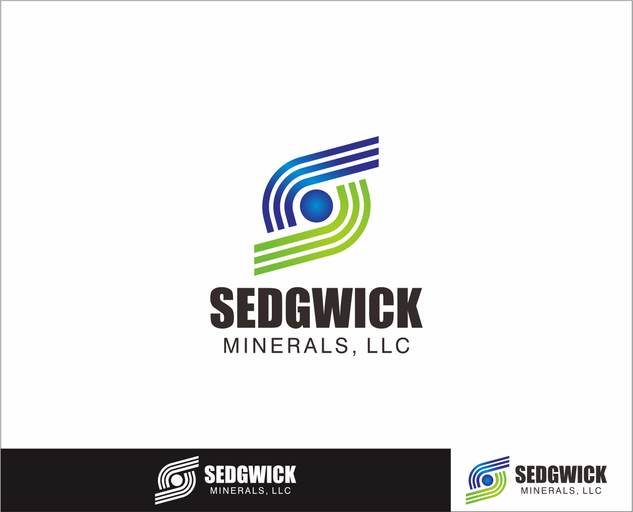 Logo Design by Armada Jamaluddin - Entry No. 57 in the Logo Design Contest Inspiring Logo Design for Sedgwick Minerals, LLC.