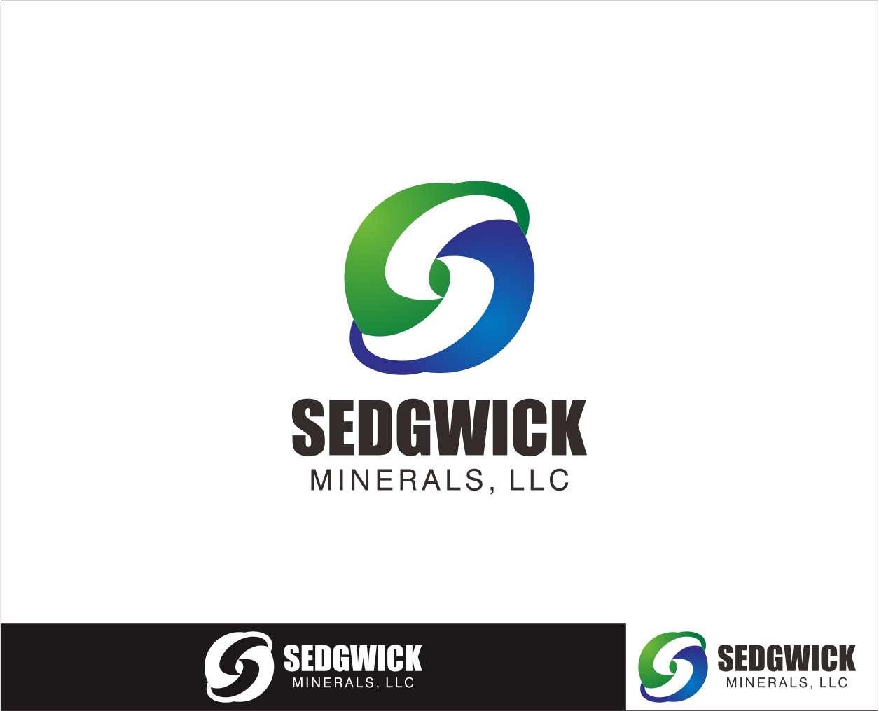 Logo Design by Armada Jamaluddin - Entry No. 59 in the Logo Design Contest Inspiring Logo Design for Sedgwick Minerals, LLC.