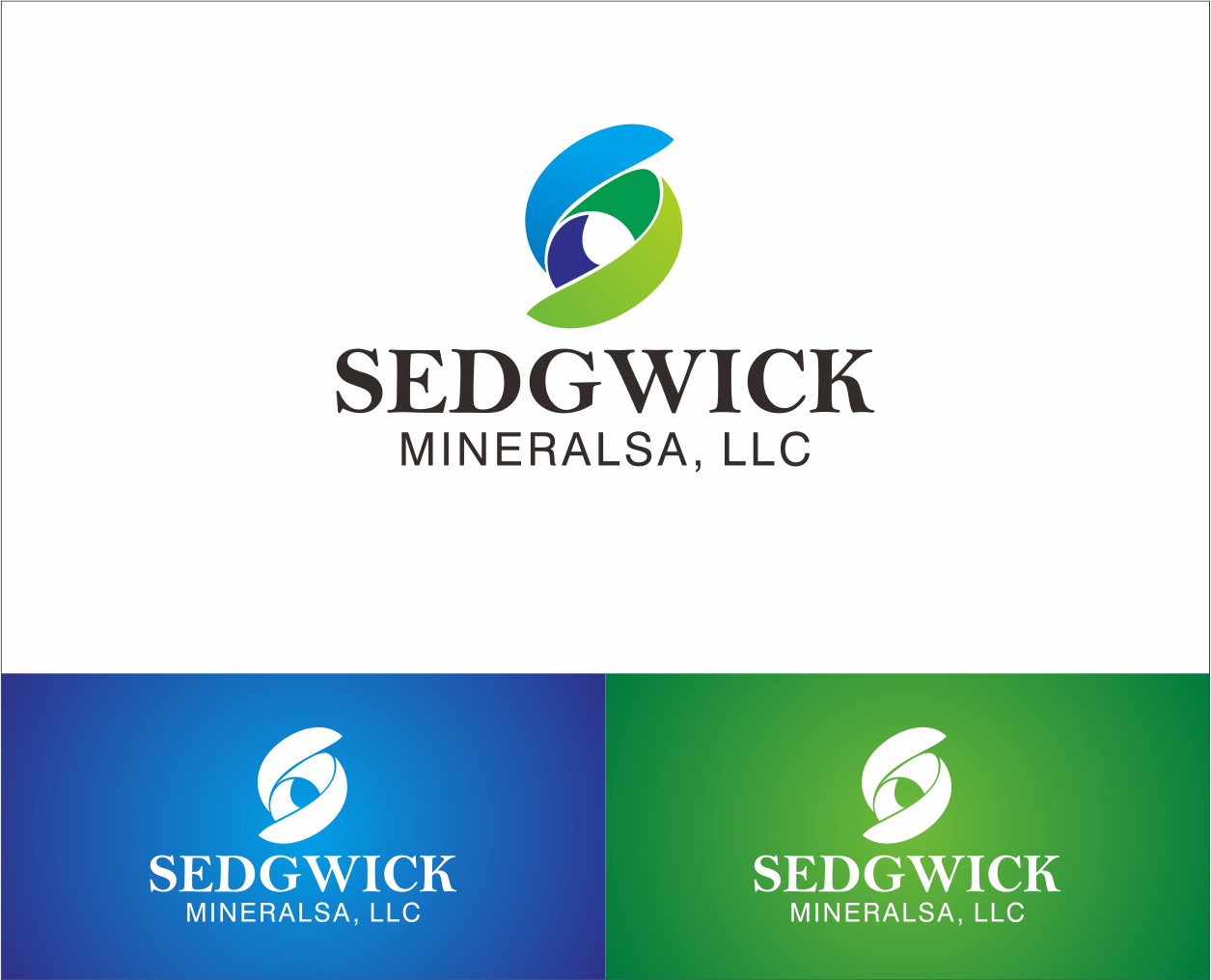 Logo Design by Armada Jamaluddin - Entry No. 61 in the Logo Design Contest Inspiring Logo Design for Sedgwick Minerals, LLC.