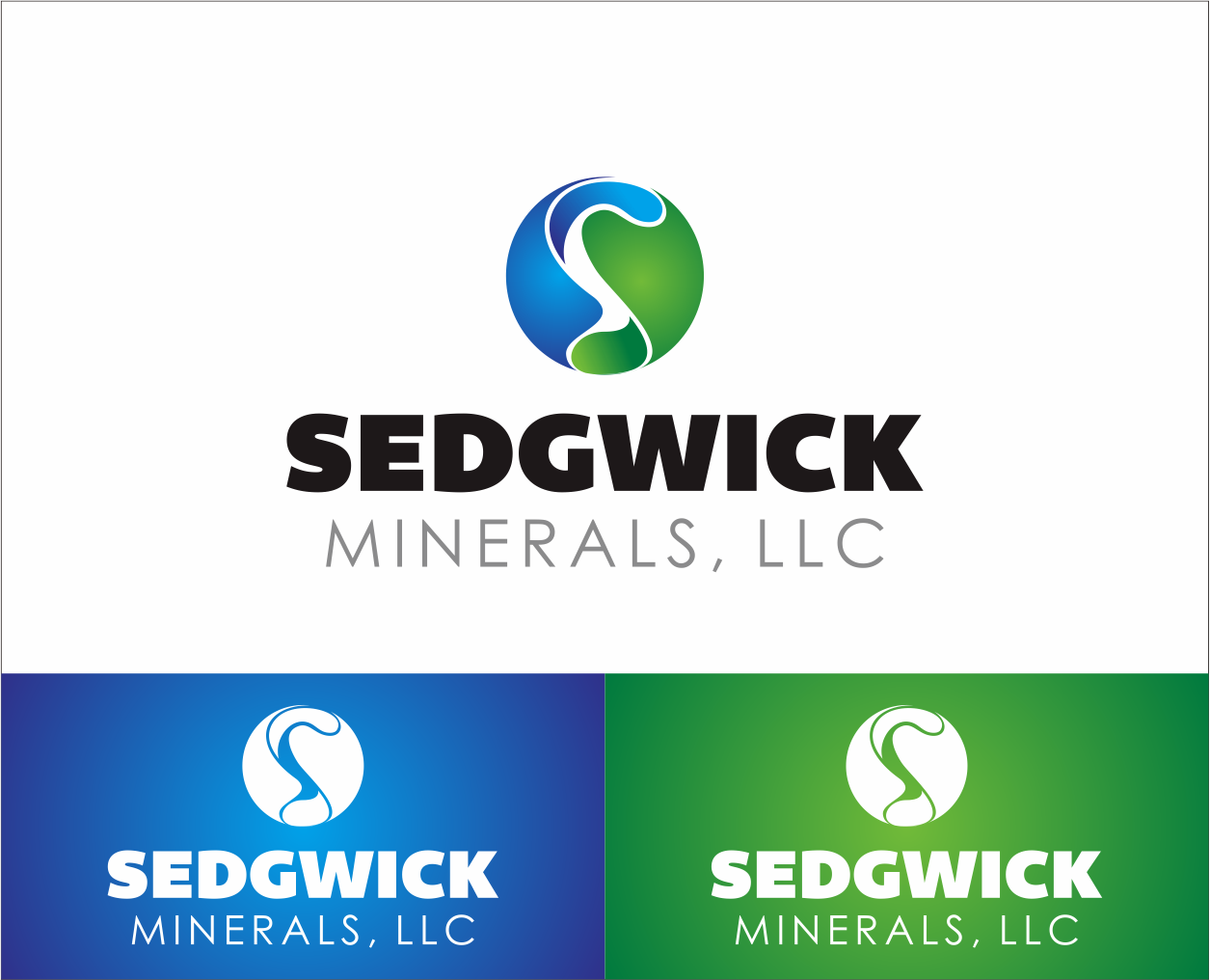 Logo Design by Armada Jamaluddin - Entry No. 63 in the Logo Design Contest Inspiring Logo Design for Sedgwick Minerals, LLC.