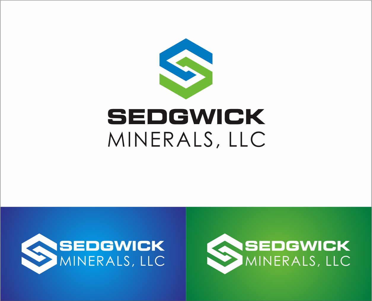 Logo Design by Armada Jamaluddin - Entry No. 69 in the Logo Design Contest Inspiring Logo Design for Sedgwick Minerals, LLC.