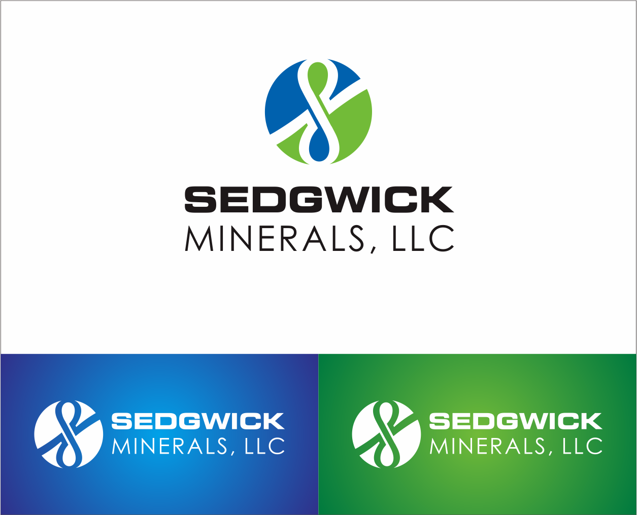 Logo Design by Armada Jamaluddin - Entry No. 70 in the Logo Design Contest Inspiring Logo Design for Sedgwick Minerals, LLC.