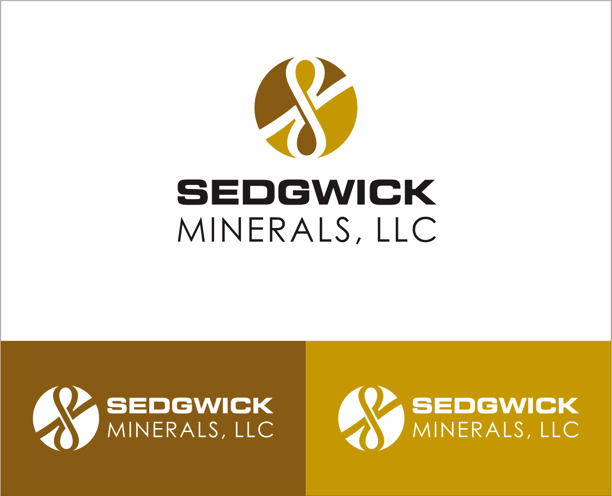 Logo Design by Armada Jamaluddin - Entry No. 71 in the Logo Design Contest Inspiring Logo Design for Sedgwick Minerals, LLC.