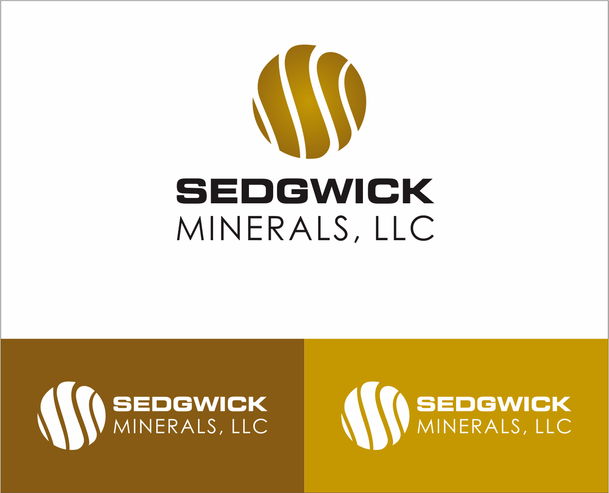 Logo Design by Armada Jamaluddin - Entry No. 72 in the Logo Design Contest Inspiring Logo Design for Sedgwick Minerals, LLC.