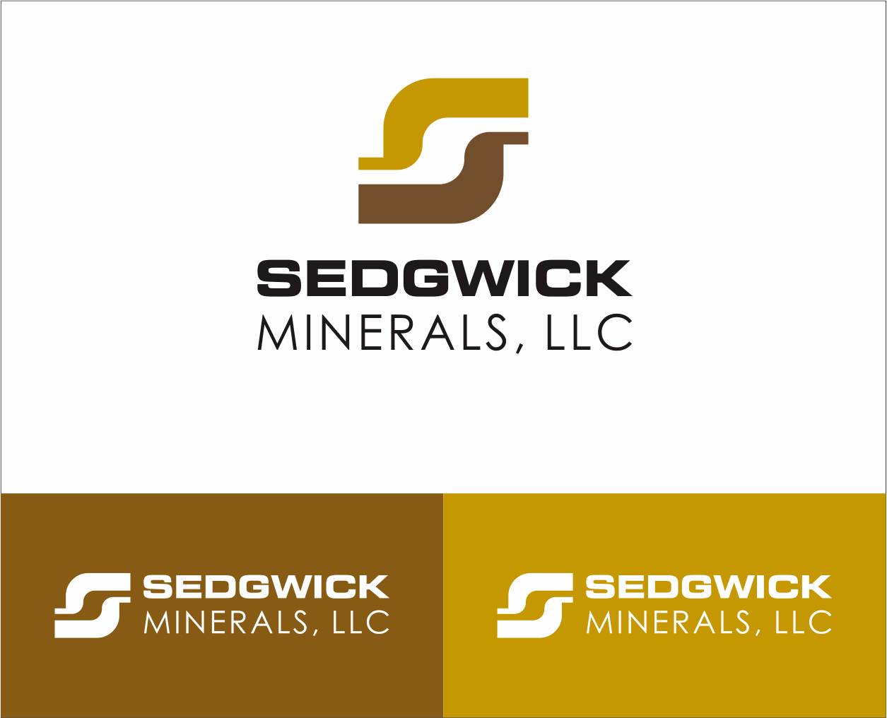 Logo Design by Armada Jamaluddin - Entry No. 76 in the Logo Design Contest Inspiring Logo Design for Sedgwick Minerals, LLC.