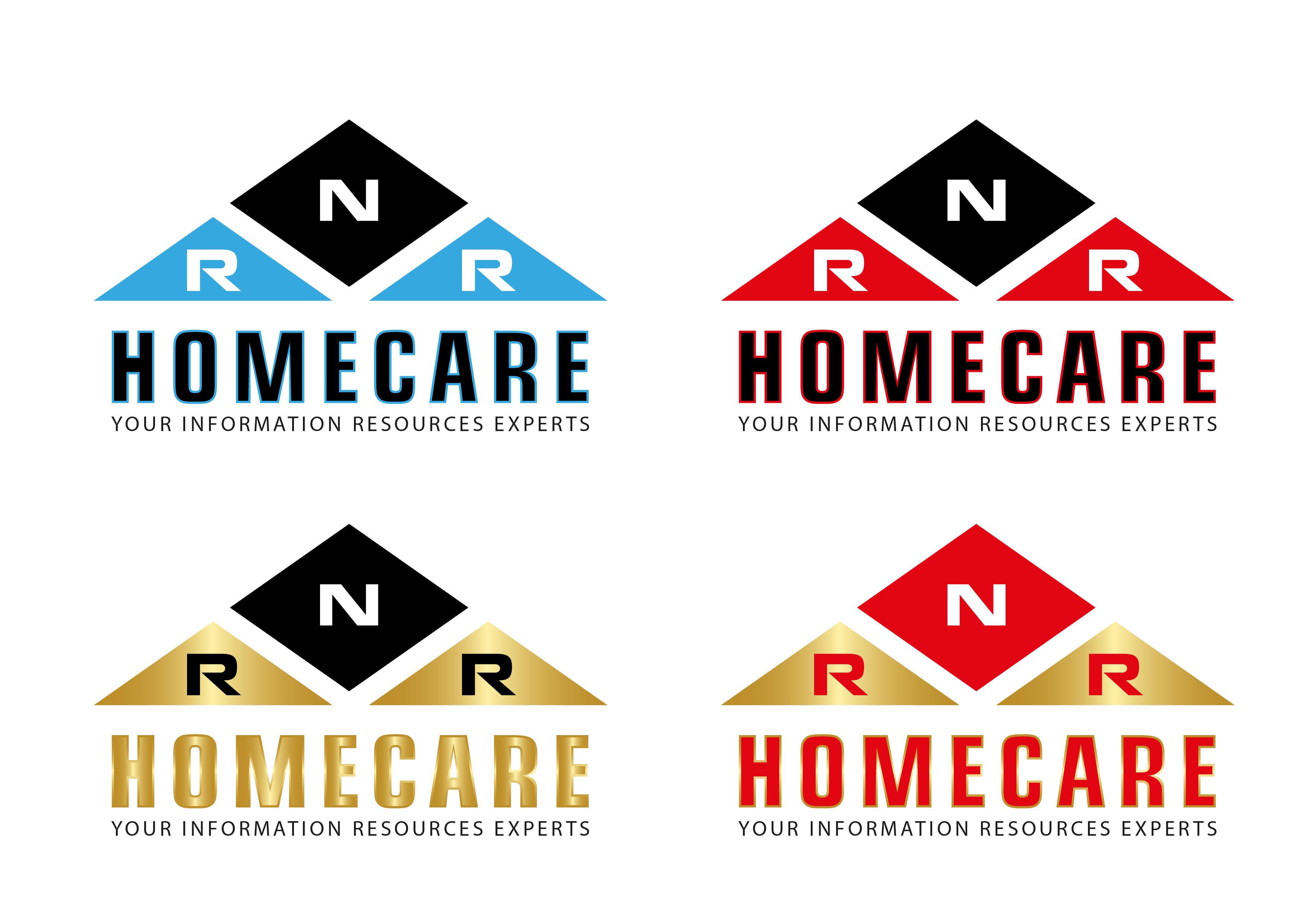 Logo Design by 3draw - Entry No. 35 in the Logo Design Contest Imaginative Logo Design for RNR HomeCare.
