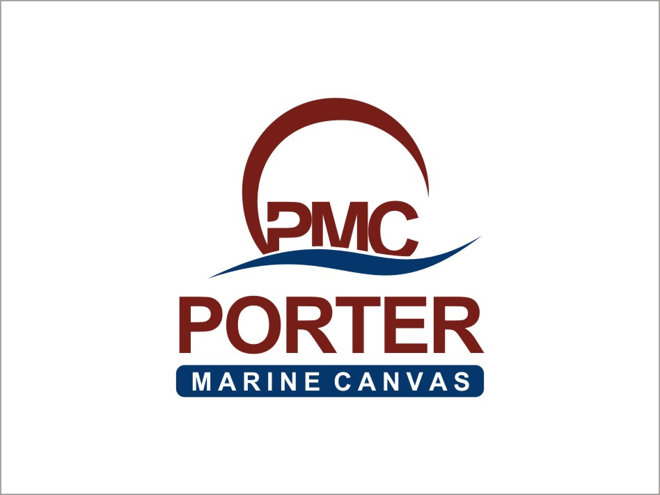 Logo Design by RED HORSE design studio - Entry No. 36 in the Logo Design Contest Imaginative Logo Design for Porter Marine Canvas.