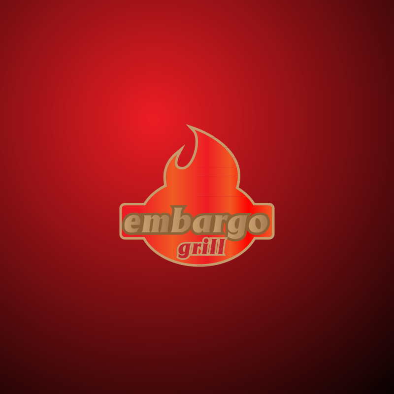 Logo Design by zesthar - Entry No. 3 in the Logo Design Contest Captivating Logo Design for Embargo Grill.