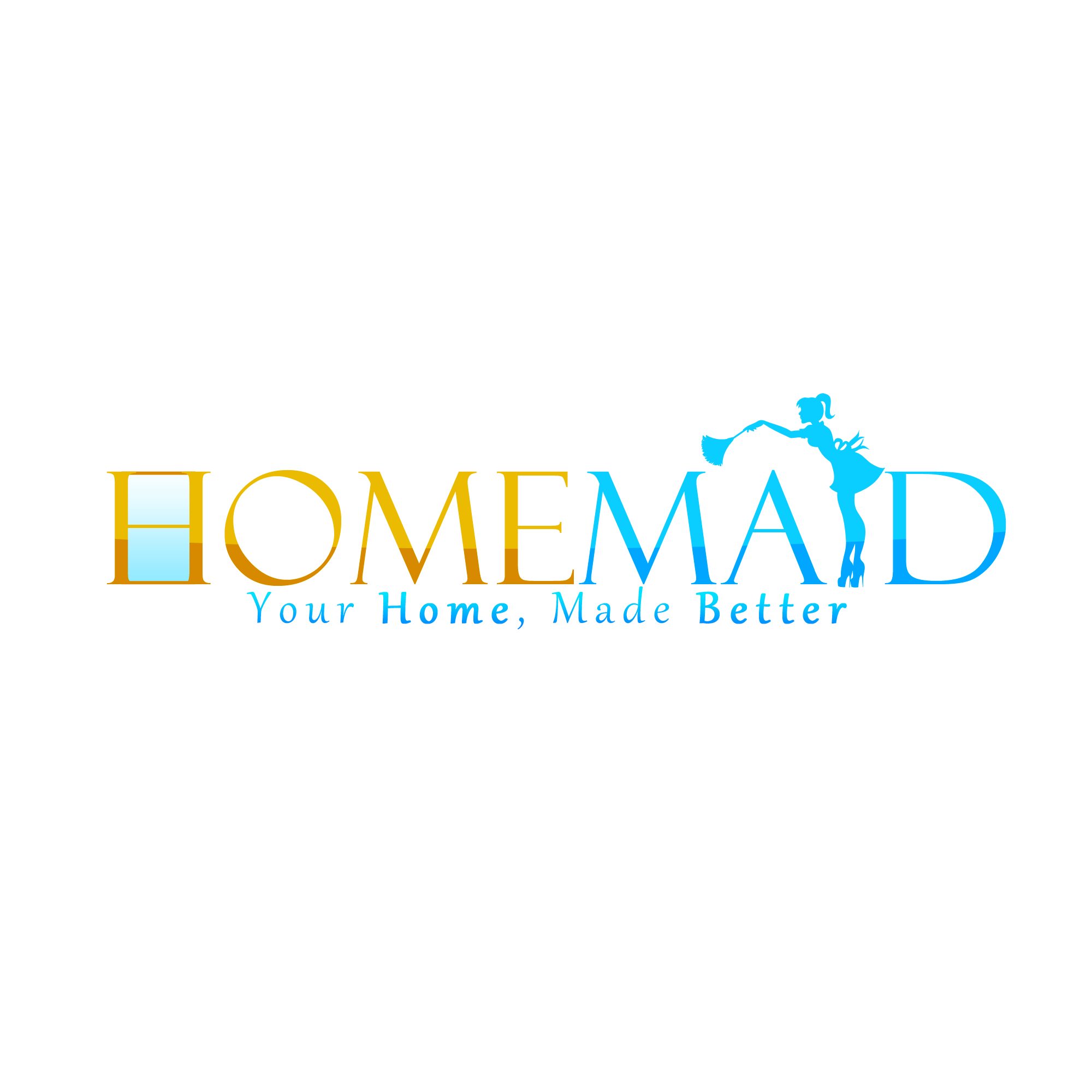 Logo Design by Kenneth Joel - Entry No. 27 in the Logo Design Contest Unique Logo Design Wanted for HomeMaid.