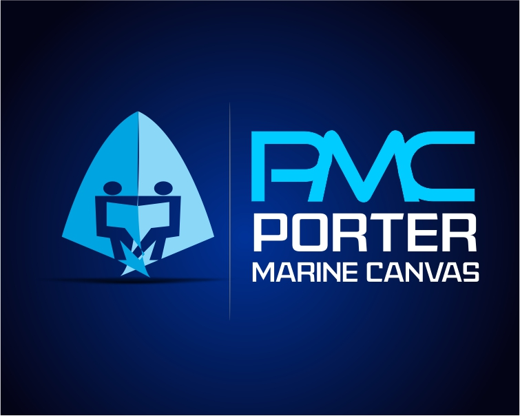 Logo Design by Private User - Entry No. 44 in the Logo Design Contest Imaginative Logo Design for Porter Marine Canvas.