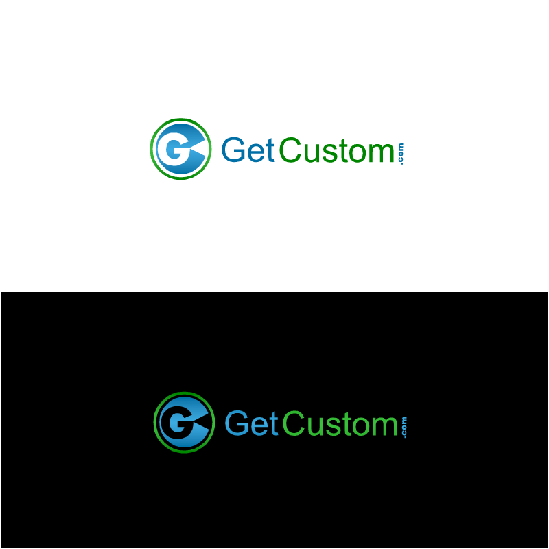 Logo Design by RAJU CHATTERJEE - Entry No. 9 in the Logo Design Contest getcustom.com Logo Design.