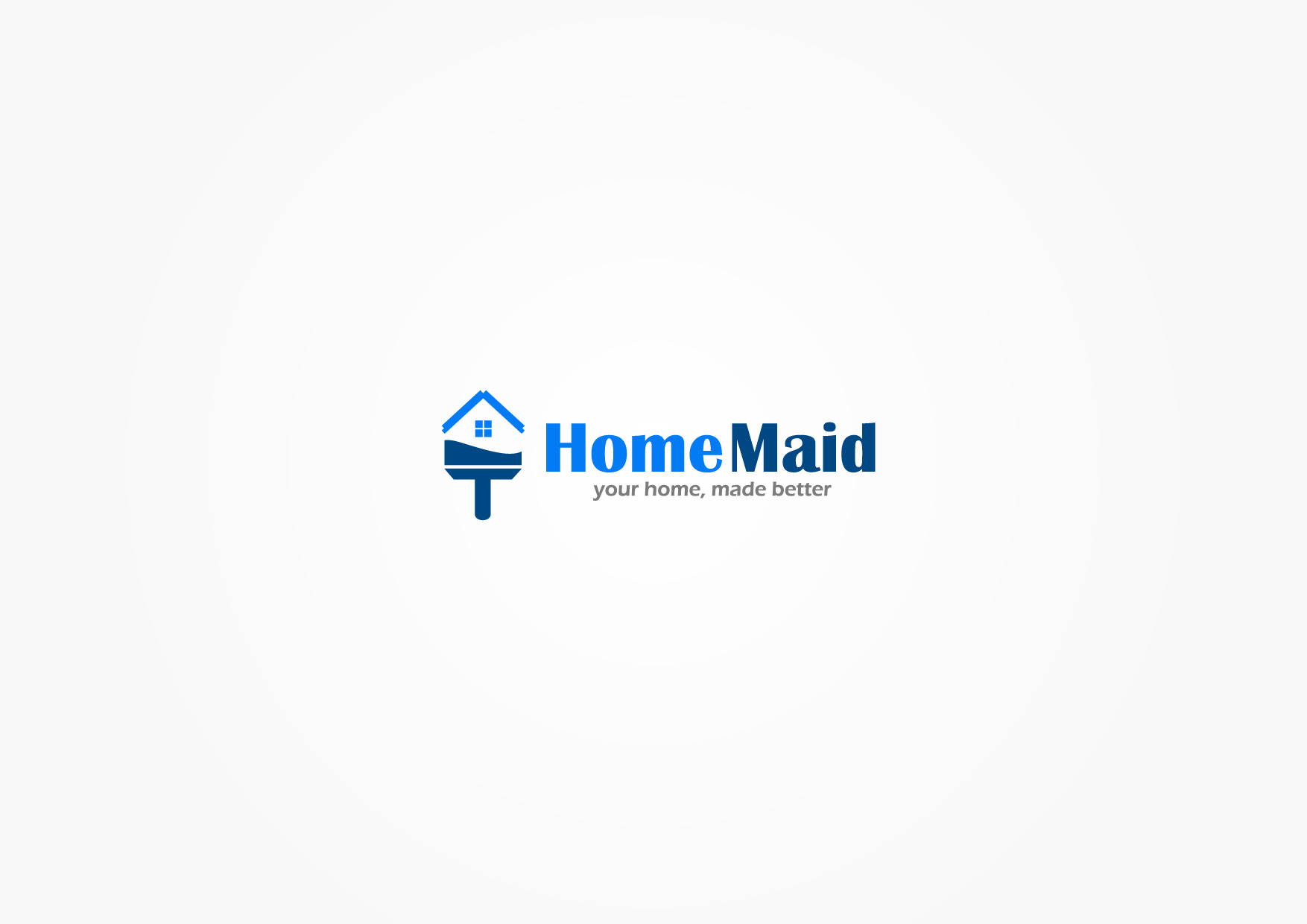 Logo Design by Osi Indra - Entry No. 29 in the Logo Design Contest Unique Logo Design Wanted for HomeMaid.