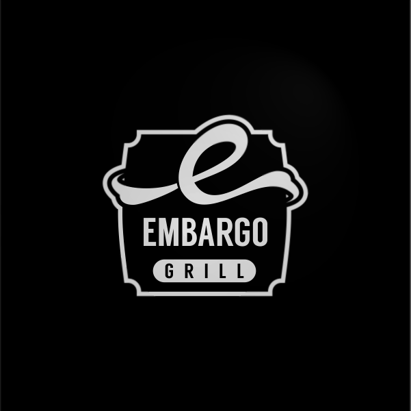 Logo Design by Private User - Entry No. 6 in the Logo Design Contest Captivating Logo Design for Embargo Grill.
