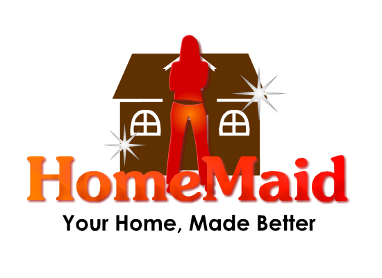 Logo Design by Ismail Adhi Wibowo - Entry No. 30 in the Logo Design Contest Unique Logo Design Wanted for HomeMaid.