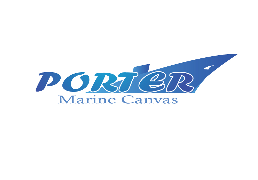 Logo Design by Amianan - Entry No. 50 in the Logo Design Contest Imaginative Logo Design for Porter Marine Canvas.