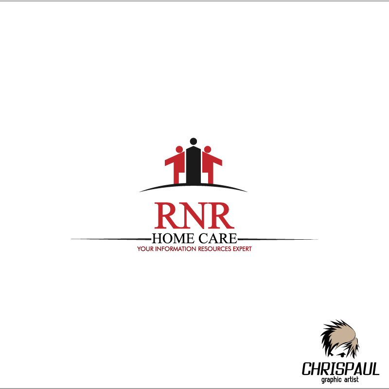Logo Design by zesthar - Entry No. 51 in the Logo Design Contest Imaginative Logo Design for RNR HomeCare.