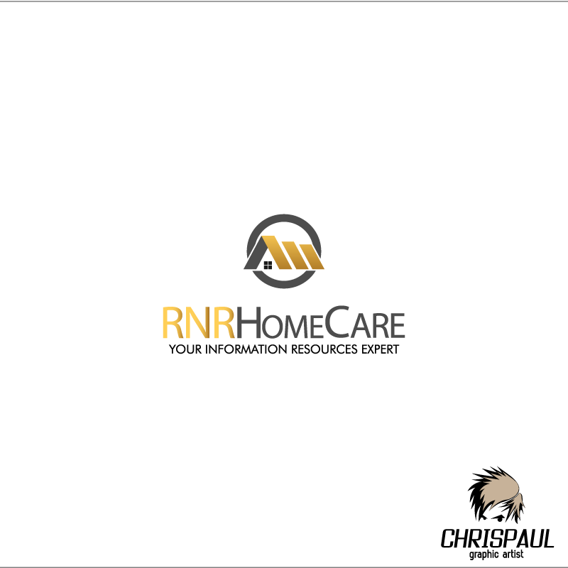 Logo Design by zesthar - Entry No. 52 in the Logo Design Contest Imaginative Logo Design for RNR HomeCare.