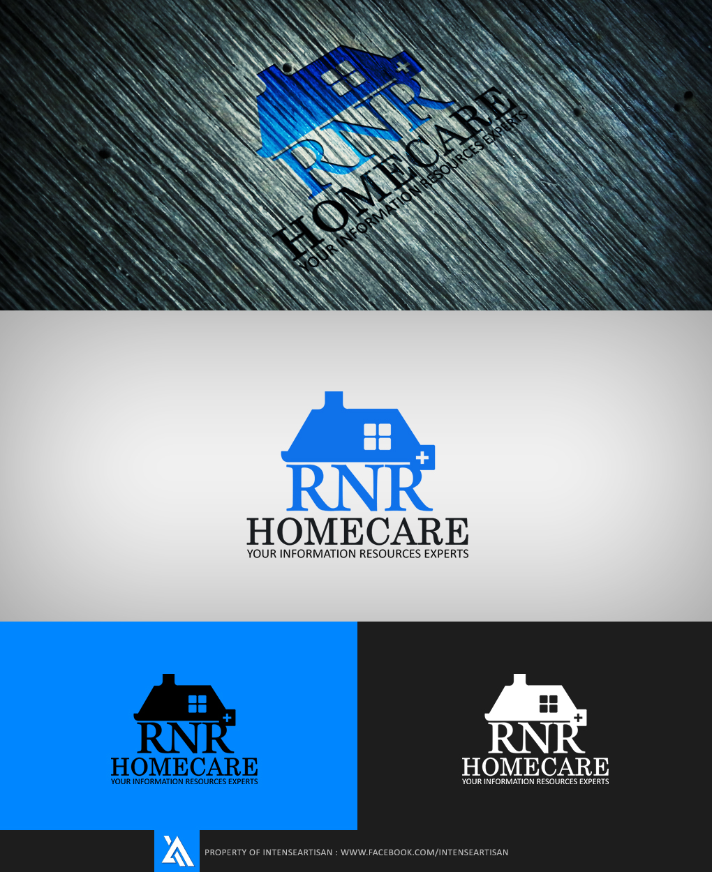 Logo Design by Virgilio Pineda III - Entry No. 62 in the Logo Design Contest Imaginative Logo Design for RNR HomeCare.