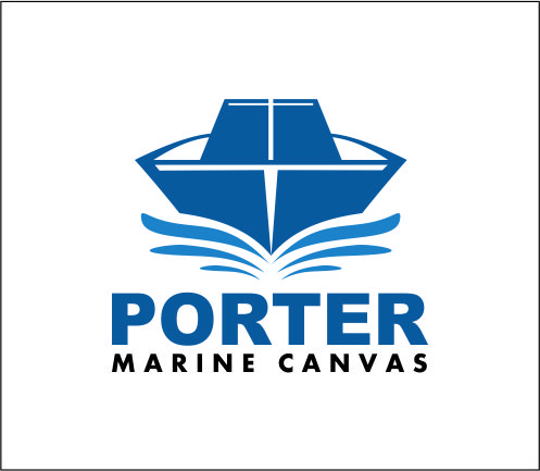 Logo Design by Agus Martoyo - Entry No. 76 in the Logo Design Contest Imaginative Logo Design for Porter Marine Canvas.