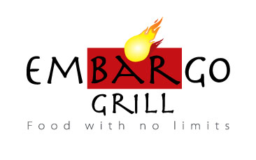 Logo Design by mediaproductionart - Entry No. 16 in the Logo Design Contest Captivating Logo Design for Embargo Grill.