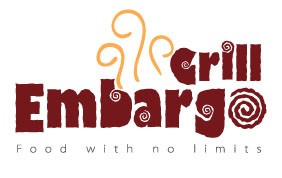 Logo Design by mediaproductionart - Entry No. 17 in the Logo Design Contest Captivating Logo Design for Embargo Grill.