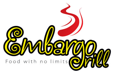 Logo Design by mediaproductionart - Entry No. 18 in the Logo Design Contest Captivating Logo Design for Embargo Grill.