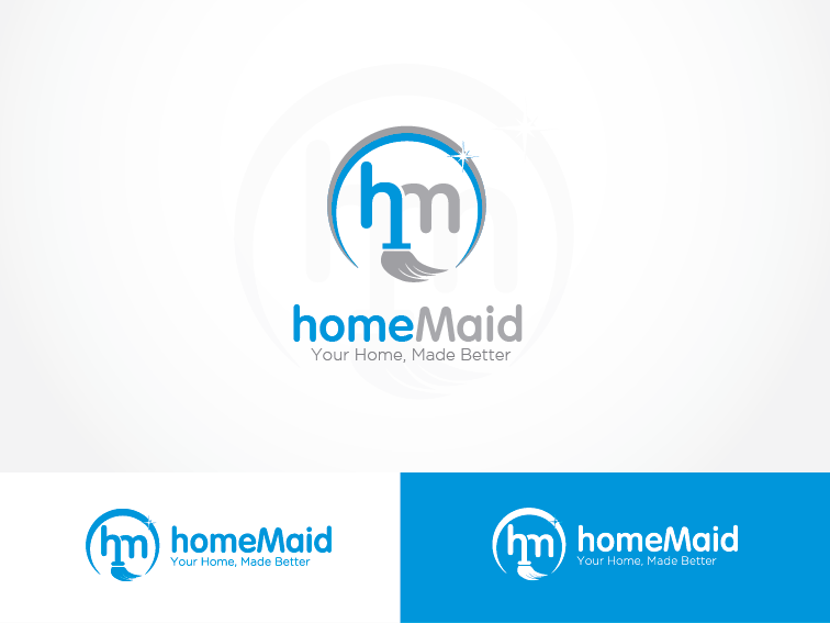 Logo Design by Private User - Entry No. 34 in the Logo Design Contest Unique Logo Design Wanted for HomeMaid.