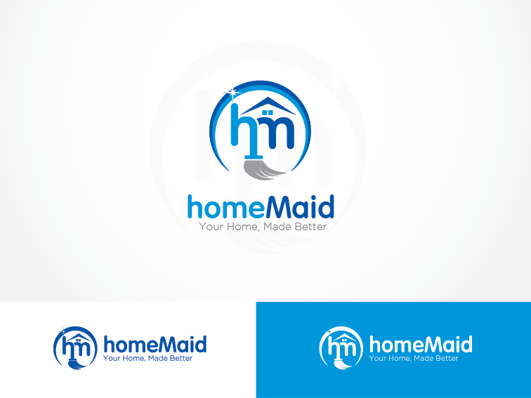 Logo Design by Private User - Entry No. 35 in the Logo Design Contest Unique Logo Design Wanted for HomeMaid.