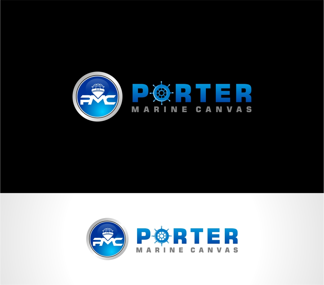 Logo Design by haidu - Entry No. 83 in the Logo Design Contest Imaginative Logo Design for Porter Marine Canvas.