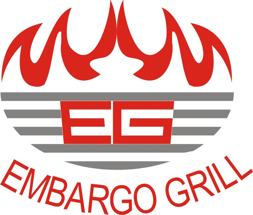 Logo Design by Korsunov Oleg - Entry No. 19 in the Logo Design Contest Captivating Logo Design for Embargo Grill.