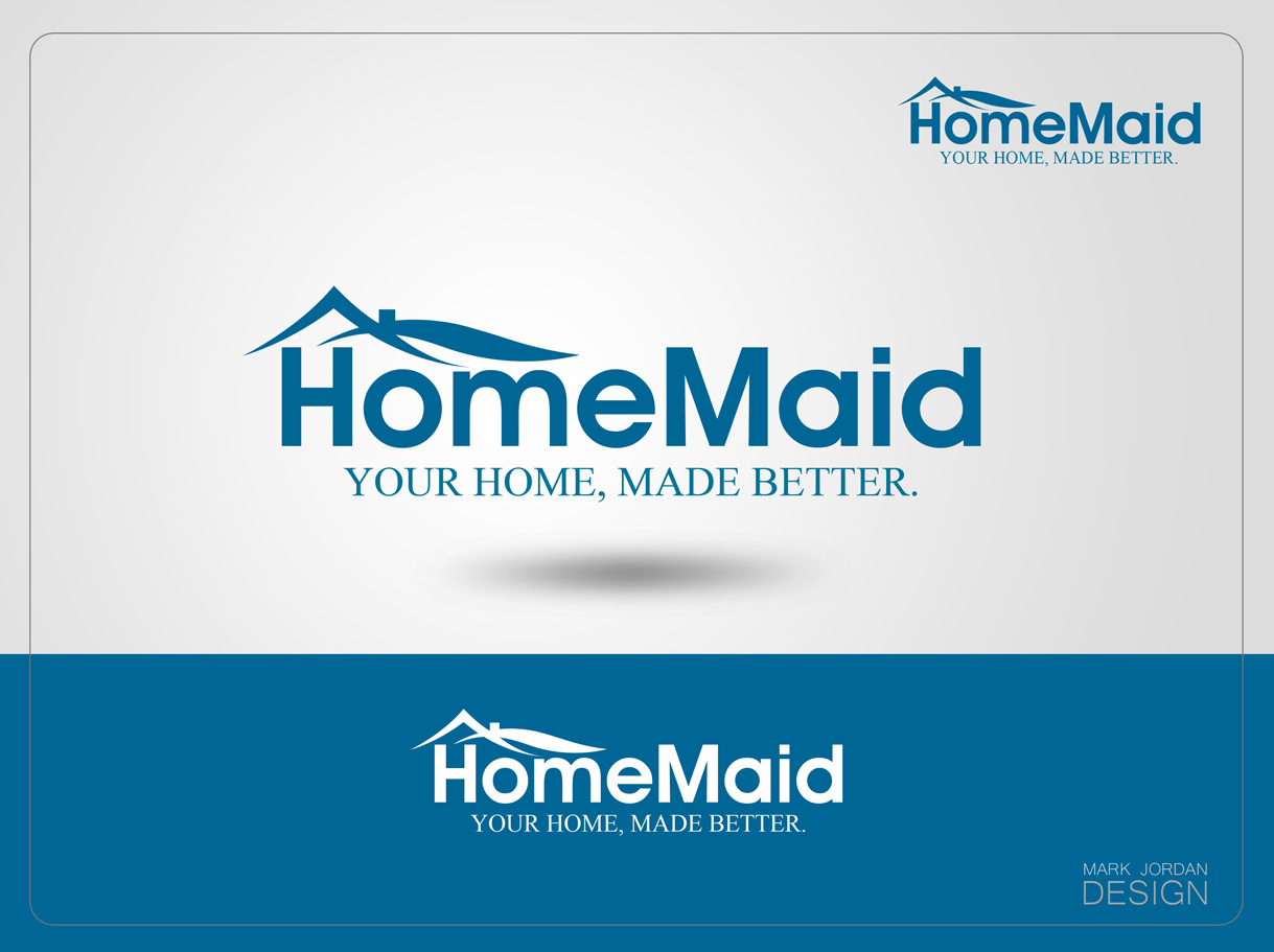 Logo Design by Mark Anthony Moreto Jordan - Entry No. 37 in the Logo Design Contest Unique Logo Design Wanted for HomeMaid.