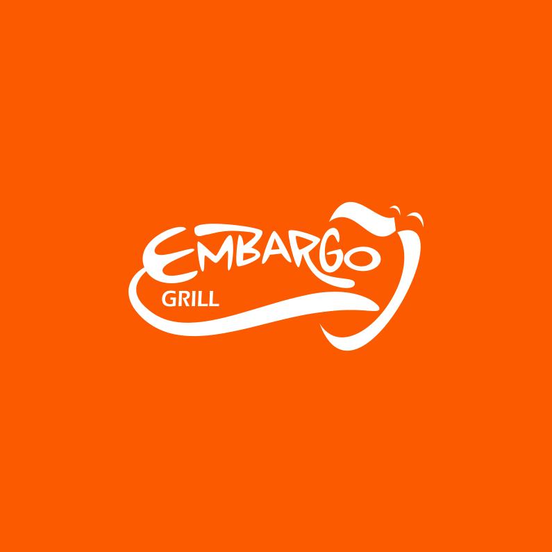 Logo Design by Jorge Sardon - Entry No. 20 in the Logo Design Contest Captivating Logo Design for Embargo Grill.