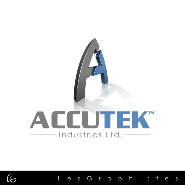 Logo Design by Les-Graphistes - Entry No. 4 in the Logo Design Contest Accutek Industries Ltd..