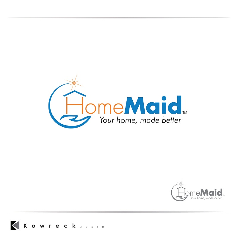 Logo Design by kowreck - Entry No. 43 in the Logo Design Contest Unique Logo Design Wanted for HomeMaid.