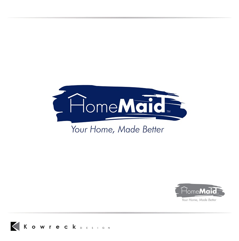 Logo Design by kowreck - Entry No. 44 in the Logo Design Contest Unique Logo Design Wanted for HomeMaid.