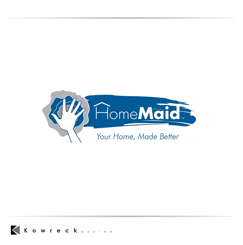 Logo Design by kowreck - Entry No. 45 in the Logo Design Contest Unique Logo Design Wanted for HomeMaid.
