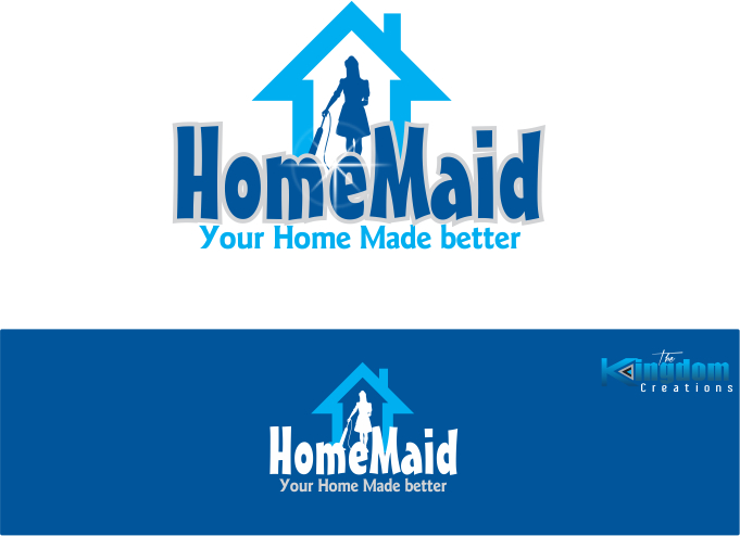 Logo Design by Clifton Gage - Entry No. 47 in the Logo Design Contest Unique Logo Design Wanted for HomeMaid.