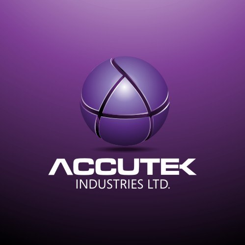 Logo Design by njleqytouch - Entry No. 6 in the Logo Design Contest Accutek Industries Ltd..