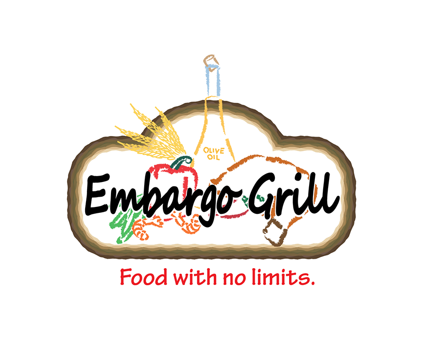 Logo Design by robken0174 - Entry No. 23 in the Logo Design Contest Captivating Logo Design for Embargo Grill.