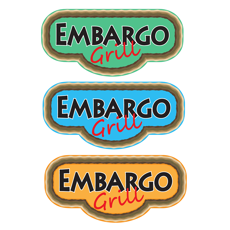 Logo Design by robken0174 - Entry No. 24 in the Logo Design Contest Captivating Logo Design for Embargo Grill.